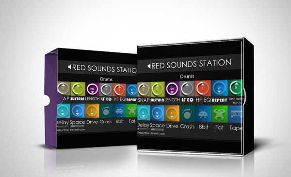 RED SOUNDS STATION: Drums